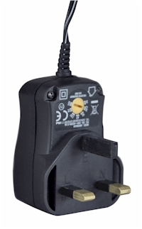 Pocket Receiver 3V Mains Adapter | Advance Alert Perimeter Alarm System